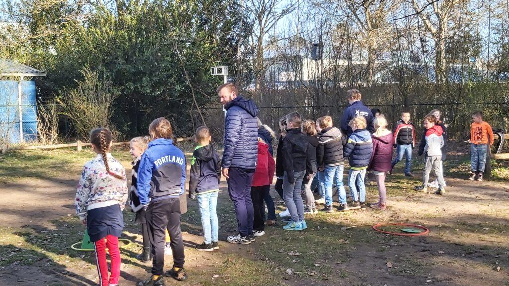 Bewegend Leren - Interactie Sportbedrijf Ermelo. Gymdocent Jan Bosch